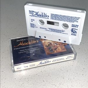Disney Aladdin Soundtrack on Cassette Tape